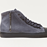Maison Martin Margiela: Distressed Leather High Top Sneaker