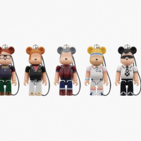Fred Perry x Medicom Toy 60th Anniversary 70% Bearbrick Series