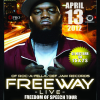 "Contest For Free Tickets To FREEWAYS ""Freedom of Speech Tour"""