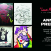 "Annie Preece Solo Exhibition ""LOVE ANNIE"" August 23, 2012 At Portfolio 360"