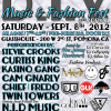 D.I.Y Music & Fashion Fest 2nd Annual Sept 8th, 2012