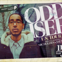 Project Live Presents : Oddisee Live With Special Guests: Mic Holden & Jae Nice
