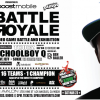 Boost Mobile Presents: Battle Royale w/ Live Performance By ScHoolboy Q & Thurz