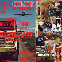 40 oz NYC x Colors In Store Event Hosted By 40 oz Van & Diego