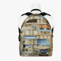 Givenchy Spring 2014 All-Over Printed BackPacks
