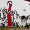 "New Mural, ""The Serpenteens"" By Fin DAC & Christina Angelina"