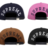 SUPREME LORO PIANA BACK ARC 5-PANEL CAP