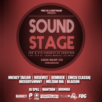 Project Live LA x ILLSOCIETY Magazine Presents The First SOUND STAGE Of The Year!!