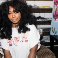 "SZA ""Z"" signing at the Generation Hustle flagship store on Melrose"