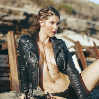 "Mat Abad editorial featuring Amanda Cerny ""Summer is Over """