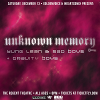 Win Free Tickets To See Yung Lean & Sad Boys + Gravity Boys In Los Angeles – December 13, 2014