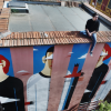 Agostino Iacurci Creates New Mural In Rome