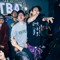 "Korean ""It G Ma"" Rapper Keith Ape & Brooklyn's Manolo Rose Performs At TBA Private Event"