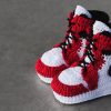 Picasso Babe Crocheted Sneakers