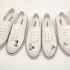 Charlie Brown and Snoopy Play Tennis on 'Peanuts' 65th Anniversary Sneakers