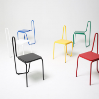 "SOHN'S ""ONE LINER"" CHAIR SERIES INSPIRED BY PICASSO DRAWINGS"