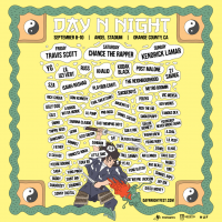 Day N Night Announces 2017 Lineup Feat. Kendrick Lamar, Chance the Rapper, And Travis Scott