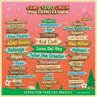 Tyler The Creator Announces The Lineup For Camp Flog Gnaw Carnival 2017
