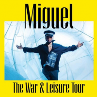 Miguel Announces The War & Leisure Tour With SiR & Nonchalant Savant